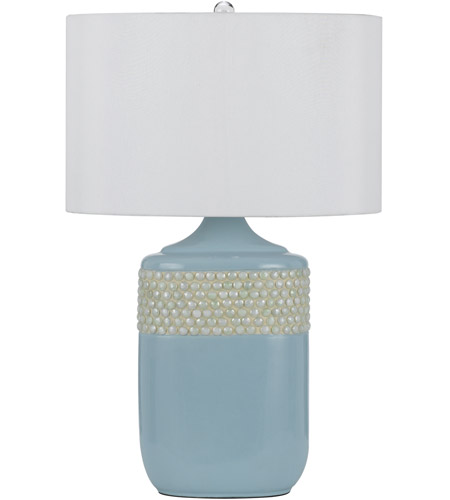 Aqua Ceramic Table Lamps