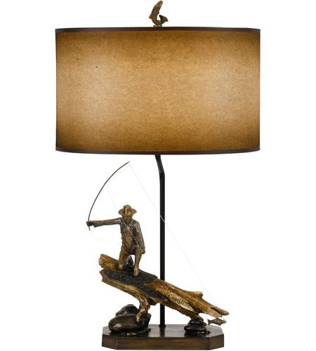 Faux Wood Table Lamps