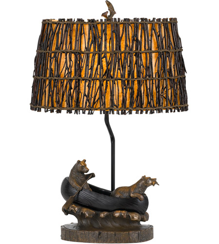 Cal Lighting Antique Bronze Table Lamps