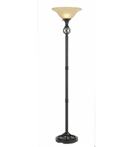 Cal Lighting Glass Floor Lamps