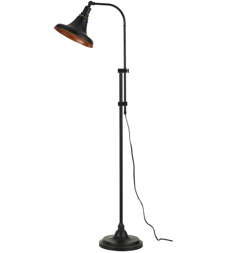 Cal Lighting BO-2788FL-DB Taranto 47 inch 60 watt Dark Bronze Floor Lamp Portable Light, Adjustable photo thumbnail