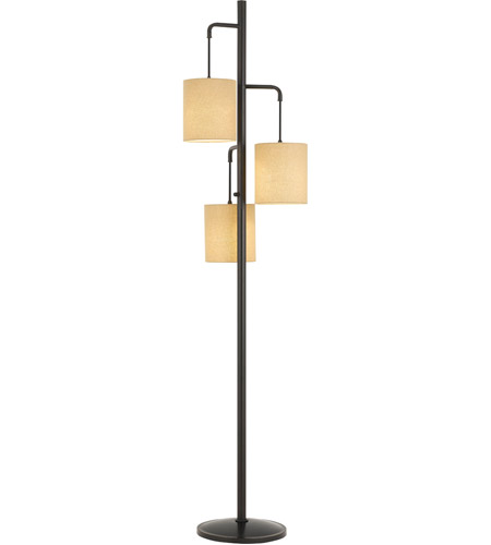 Cal Lighting Bo 2791fl Kirkwall 72 Inch 60 Watt Dark Bronze Floor Lamp Portable Light