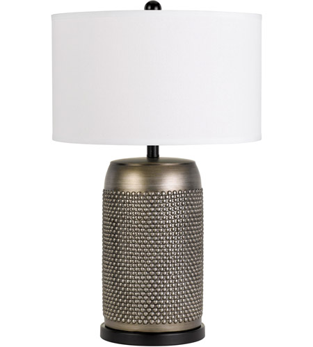 Antique Silver Ceramic Table Lamps