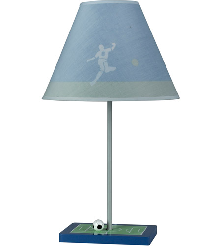 Cal Lighting BO-5684 Soccer 21 inch 60 watt Multi Table Lamp Portable Light photo thumbnail