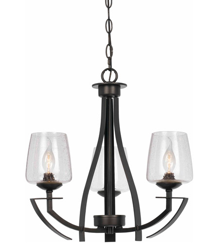 Cal Lighting Black Metal Chandeliers