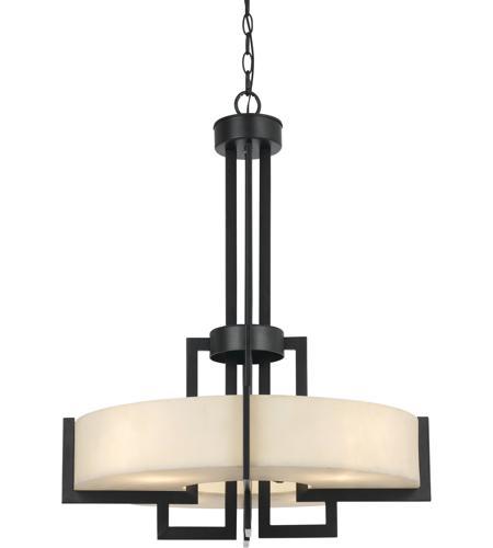 cal lighting fx 3580 4 aberdeen 4 light 25 inch dark bronze pendant
