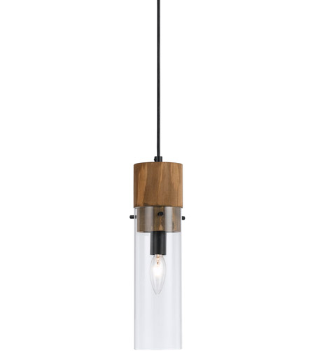 cal lighting fx 3583 1p spehroid 1 light 4 inch black and wood