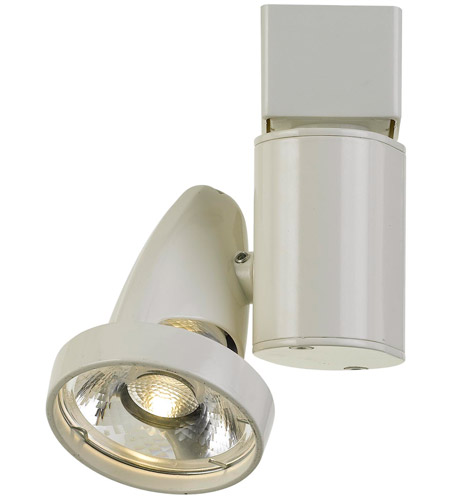 Cal Lighting Ht 808 Wh System 1 Light White Track Head Ceiling