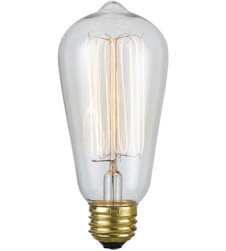Cal Lighting LB-7147-60W Edison ST18 E26 60 watt 120v Bulb photo
