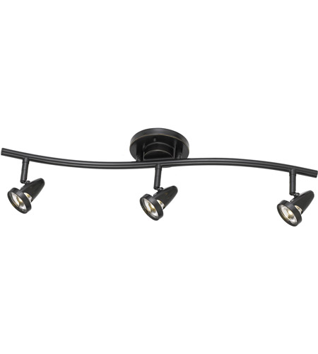 Bronze Metal Rail Lighting