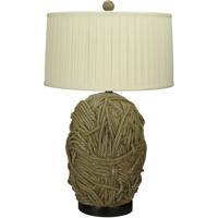 Cal Lighting BO-2014 Terra Cotta 33 inch 150 watt Tan Table Lamp Portable Light