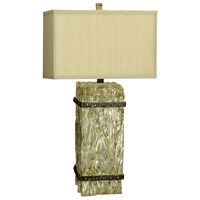 Ennis 31 inch 150 watt Whitewash Table Lamp Portable Light