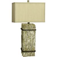 Cal Lighting BO-2016 Ennis 31 inch 150 watt Whitewash Table Lamp Portable Light