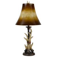 Buckhorn 30 inch 100 watt Bone Table Lamp Portable Light