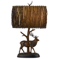 Elk 28 inch 150 watt Brownish Table Lamp Portable Light
