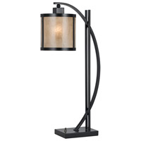 Mica 26 inch 60 watt Iron Table Lamp Portable Light