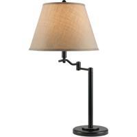 Cal Lighting BO-2350TB-DB Dana 29 inch 150 watt Dark Bronze Swing Arm Table Lamp Portable Light