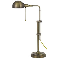 Cal Lighting Antique Brass Desk Lamps