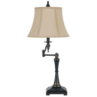 Cal Lighting BO-2443SWTB Madison 31 inch 150 watt Oil Rubbed Bronze Swing Arm Table Lamp Portable Light