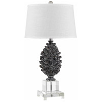 Cal Lighting BO-2469TB Pinecone 30 inch 150 watt Clear Crystal Table Lamp Portable Light
