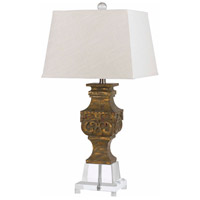 Cal Lighting Clear Table Lamps