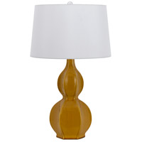 Cal Lighting BO-2583TB/2-SI Murcia 27 inch 150 watt Mocha Table Lamp Portable Light