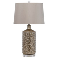 Cal Lighting BO-2621TB Signature 31 inch 150 watt Distressed Mirror Table Lamp Portable Light