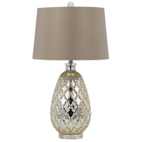 Cal Lighting BO-2623TB Signature 28 inch 150 watt Antique Gold Table Lamp Portable Light