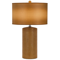 Cal Lighting BO-2632TB-2 Signature 29 inch 150 watt Brown Table Lamp Portable Light