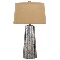 Cal Lighting BO-2635TB Bradenton 30 inch 150 watt Antique Mirror Table Lamp Portable Light