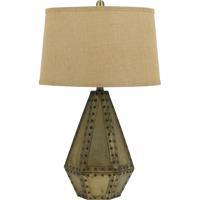 Cal Lighting BO-2640TB Cuero 28 inch 150 watt Antique Gold Table Lamp Portable Light