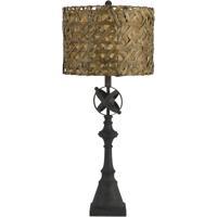 Cal Lighting BO-2656TB Deming 33 inch 150 watt Black Table Lamp Portable Light