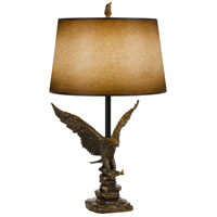 Eagle 32 inch 150 watt Cast Bronze Table Lamp Portable Light