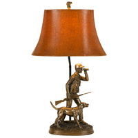Cal Lighting BO-2665TB Hunter 29 inch 150 watt Cast Bronze Table Lamp Portable Light