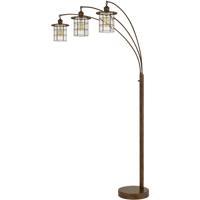 Cal Lighting BO-2668-3L-RU Silverton 89 inch 60 watt Rust Arc Floor Lamp Portable Light