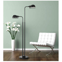 Cal Lighting BO-2696FL Paxton 62 inch 12 watt Dark Bronze Floor Lamp Portable Light alternative photo thumbnail