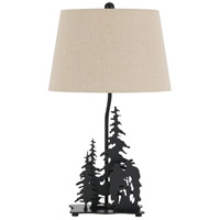 Cowboy 26 inch 150 watt Dark Bronze Table Lamp Portable Light