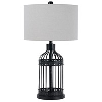 Iron Transitional Table Lamps