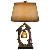 Nature 29 inch 100 watt Antique Bronze Table Lamp Portable Light