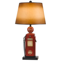Nostalgic 31 inch 150 watt Rust Brick Table Lamp Portable Light