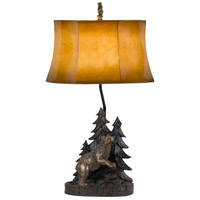 Forest 29 inch 150 watt Antique Bronze Table Lamp Portable Light