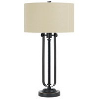 Rubbed Bronze Metal Table Lamps