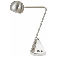 Cal Lighting Brushed Steel Desk Lamps