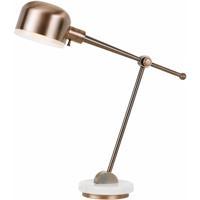 Cal Lighting BO-2765DK-CP Allendale 31 inch 60 watt Copper Desk Lamp Portable Light