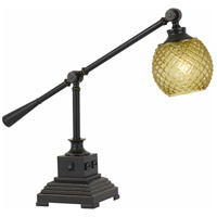 Cal Lighting BO-2777DK Brandon 21 inch 60 watt Dark Bronze Desk Lamp Portable Light
