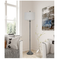 Cal Lighting BO-2786FL-AS Cosenza 65 inch 60 watt Antiqued Silver Floor Lamp Portable Light