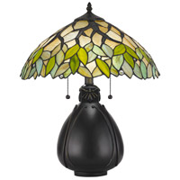 Tiffany 19 inch 60 watt Table Lamp Portable Light