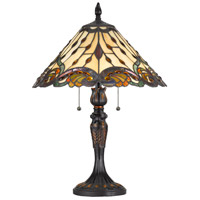 Tiffany 23 inch 60 watt Table Lamp Portable Light