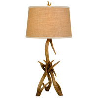 Drummond 33 inch 150 watt Antler Table Lamp Portable Light