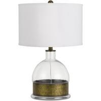 Cal Lighting BO-2809TB Rapallo 25 inch 150 watt Antiqued Brass Table Lamp Portable Light